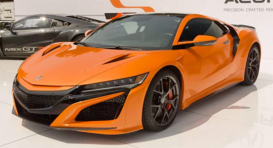 2021 Acura NSX Review And Changes