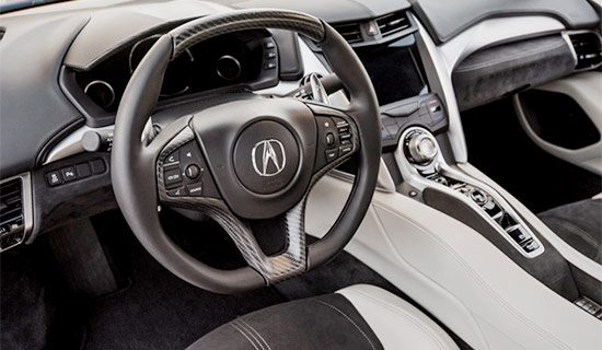 2021 Acura NSX GT3 Interior