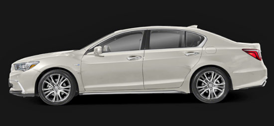 2021 Acura RLX Exterior