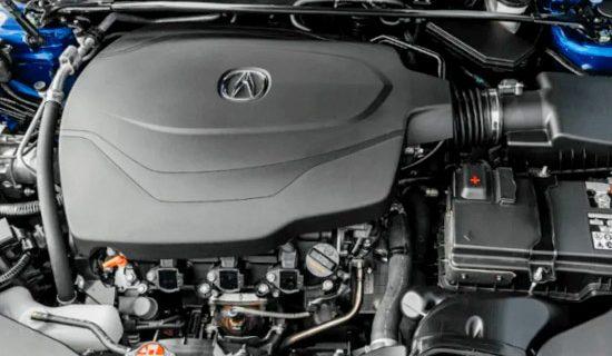 2021 Acura TLX Type S Engine