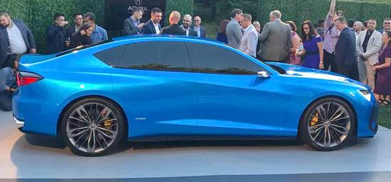 2021 Acura TLX Type S Exterior