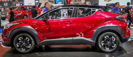 2021 Toyota C HR Exterior