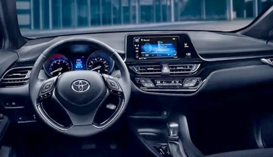 2021 Toyota C HR Interior
