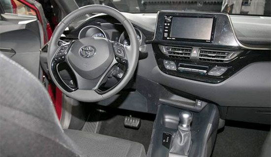 2021 Toyota C HR Interior