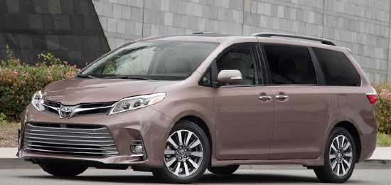 2021 Toyota Sienna Review Interior And Release Date