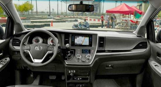2021 Toyota Sienna Review Interior