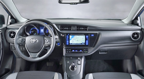 New Toyota Auris 2021 Interior
