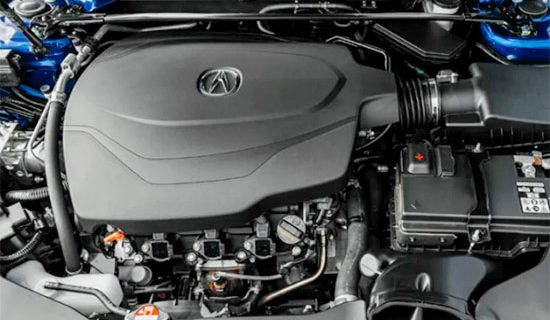 2021 Acura TLX Engine